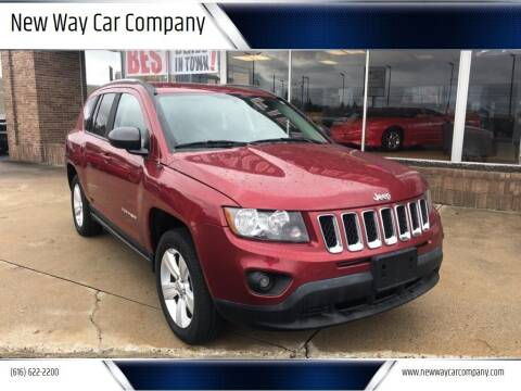 2014 Jeep Compass for sale at New Way Car Company in Grand Rapids MI