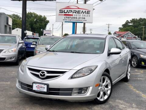 2009 Mazda MAZDA6 for sale at Supreme Auto Sales in Chesapeake VA