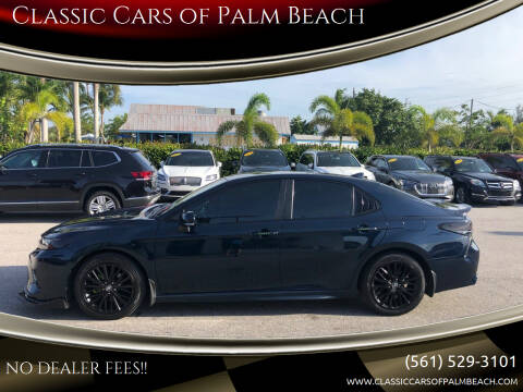2019 Toyota Camry for sale at Classic Cars of Palm Beach in Jupiter FL
