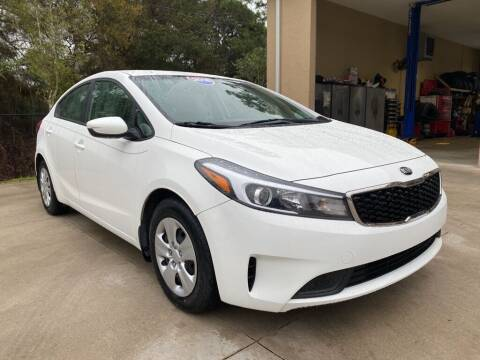2018 Kia Forte for sale at Jeff's Auto Sales & Service in Port Charlotte FL
