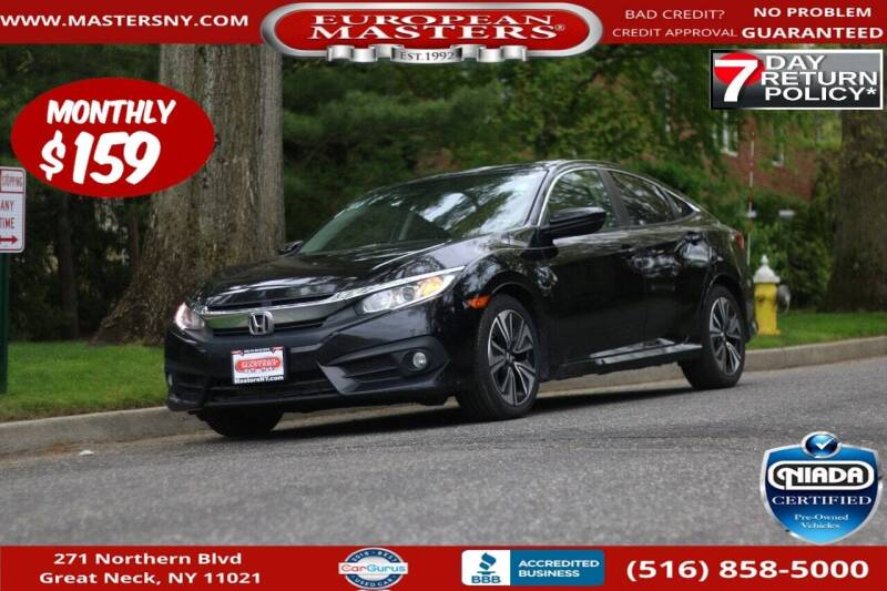2017 Honda Civic for sale at European Masters in Great Neck NY