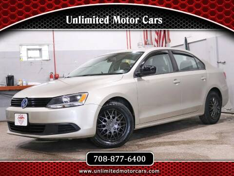 2013 Volkswagen Jetta for sale at Unlimited Motor Cars in Bridgeview IL