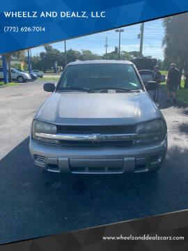 2007 Chevrolet TrailBlazer for sale at WHEELZ AND DEALZ, LLC in Fort Pierce FL