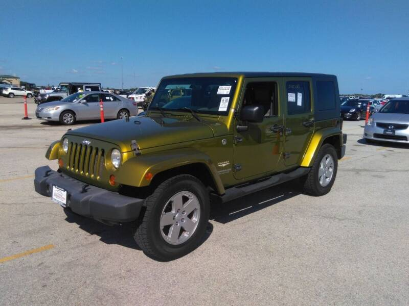 2007 Jeep Wrangler Unlimited for sale at Tumbleson Automotive in Kewanee IL