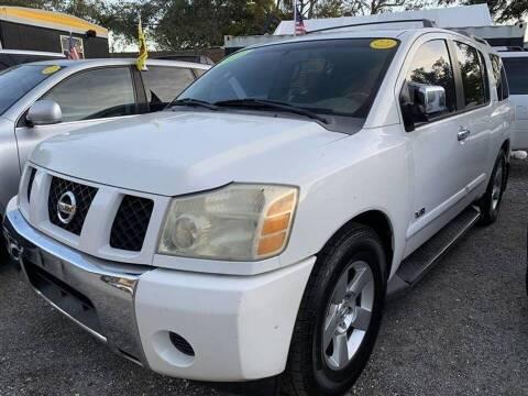 2007 Nissan Armada for sale at EZ Own Car Sales of Miami in Miami FL