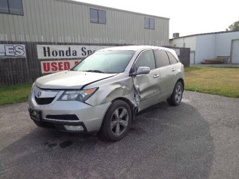 2011 Acura MDX for sale at S & M IMPORT AUTO in Omaha NE