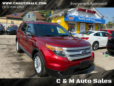2014 Ford Explorer for sale at C & M Auto Sales in Detroit MI