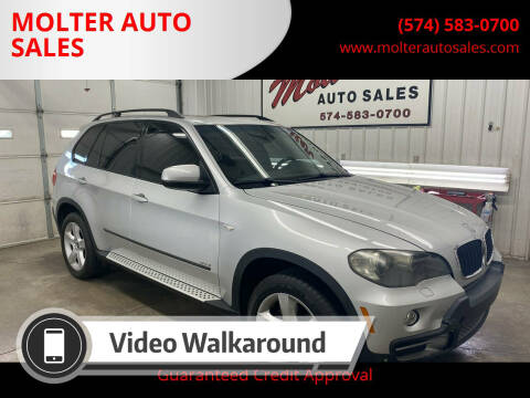 2007 BMW X5 for sale at MOLTER AUTO SALES in Monticello IN