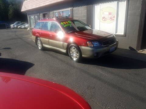 2003 Subaru Outback for sale at Bonney Lake Used Cars in Puyallup WA