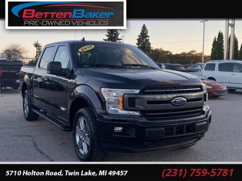 2018 Ford F-150 for sale at Betten Baker Preowned Center in Twin Lake MI