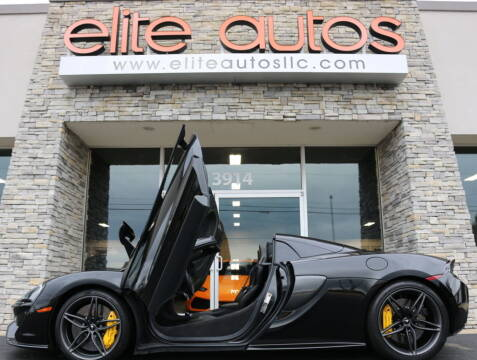 2019 McLaren 570S Spider for sale at Elite Autos LLC in Jonesboro AR