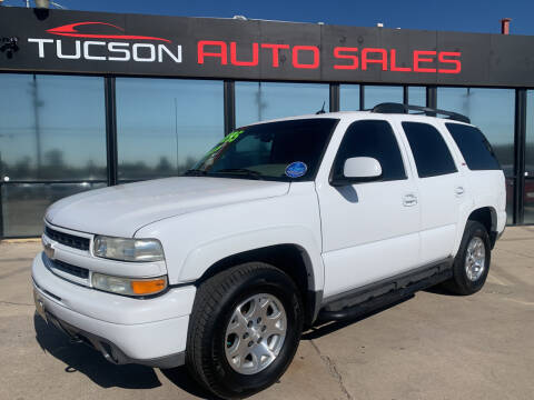 2005 Chevrolet Tahoe for sale at Tucson Auto Sales in Tucson AZ