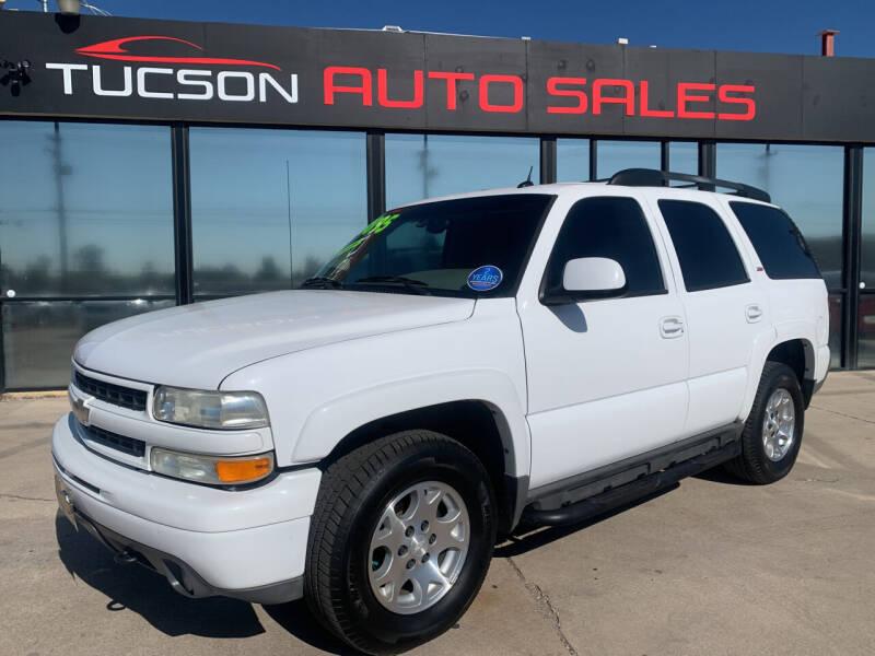 2005 Chevrolet Tahoe for sale at Tucson Auto Sales in Tucson AZ