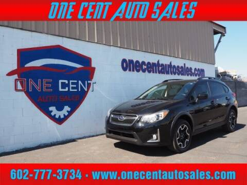 2016 Subaru Crosstrek for sale at One Cent Auto Sales in Glendale AZ