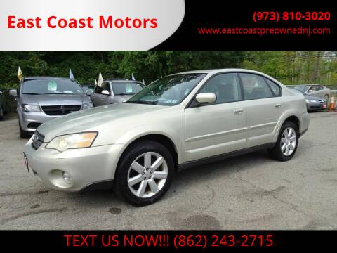 2007 Subaru Outback for sale at East Coast Motors in Lake Hopatcong NJ