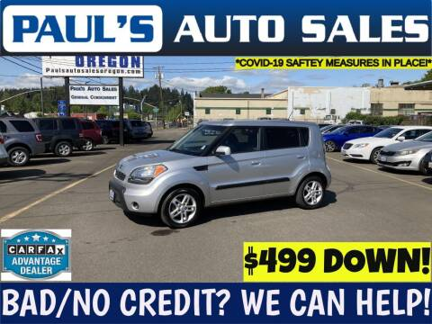2010 Kia Soul for sale at Paul's Auto Sales in Eugene OR