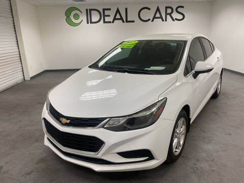 2017 Chevrolet Cruze for sale at Ideal Cars in Mesa AZ