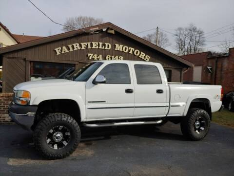 2002 GMC Sierra 2500HD for sale at Fairfield Motors in Fort Wayne IN