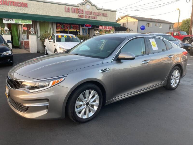 2018 Kia Optima for sale at La Mesa Auto Sales in Huntington Park CA