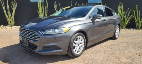 2016 Ford Fusion for sale at Fast Trac Auto Sales in Phoenix AZ