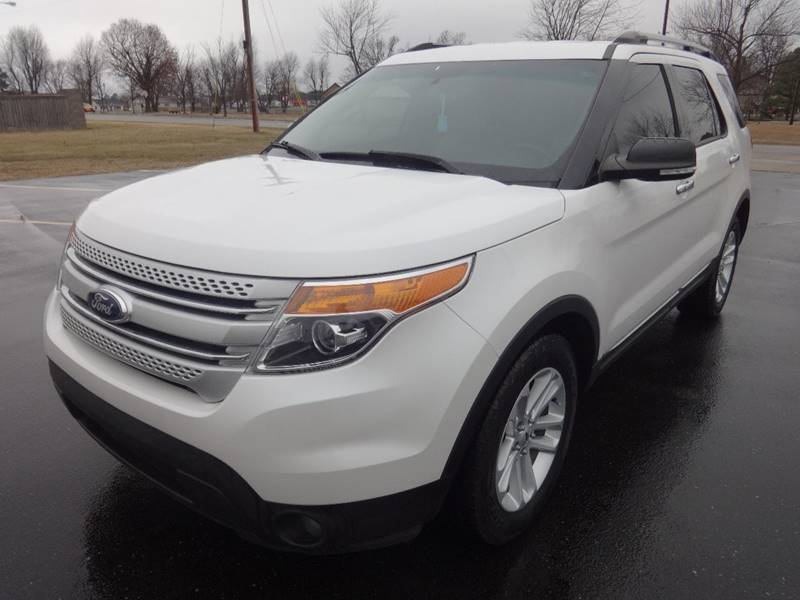 2014 Ford Explorer for sale at Just Drive Auto in Springdale AR