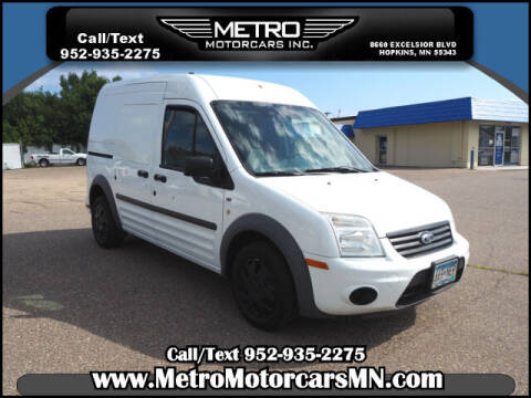 2013 Ford Transit Connect for sale at Metro Motorcars Inc in Hopkins MN