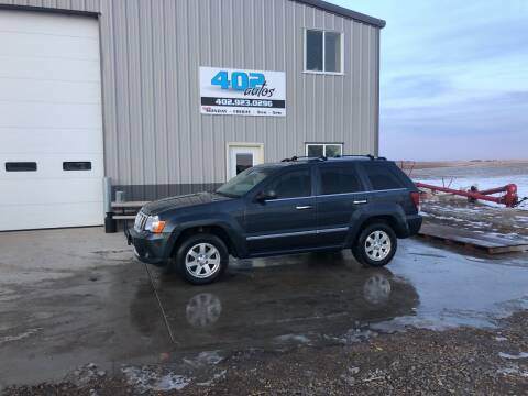 2008 Jeep Grand Cherokee for sale at 402 Autos in Lindsay NE
