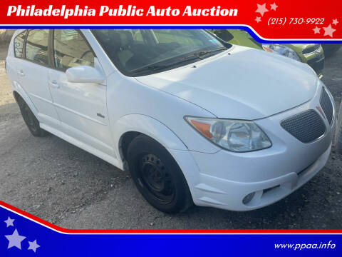 2007 Pontiac Vibe for sale at Philadelphia Public Auto Auction in Philadelphia PA