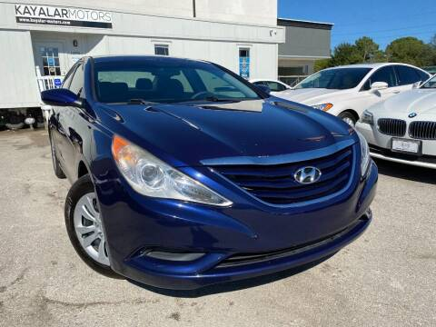 2012 Hyundai Sonata for sale at KAYALAR MOTORS - ECUFAST HOUSTON in Houston TX