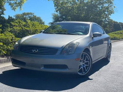 2005 Infiniti G35 for sale at William D Auto Sales in Norcross GA