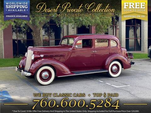 1937 Packard 115C 4 Door