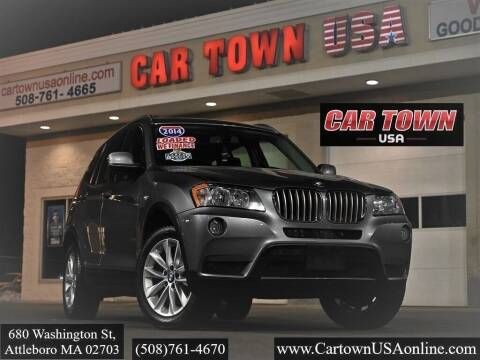2014 BMW X3 for sale at Car Town USA in Attleboro MA