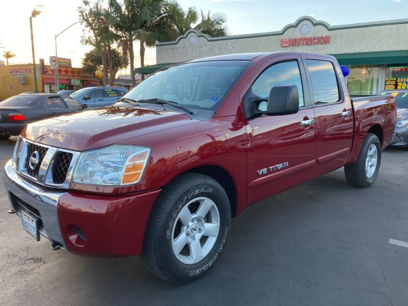 2006 Nissan Titan for sale at La Mesa Auto Sales in Huntington Park CA