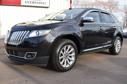 2013 Lincoln MKX for sale at Dealswithwheels in Inver Grove Heights/Hastings MN