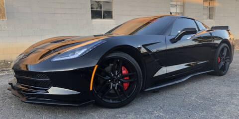 2019 Chevrolet Corvette for sale at El Camino Auto Sales in Gainesville GA