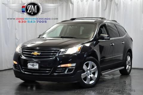 2013 Chevrolet Traverse for sale at ZONE MOTORS in Addison IL