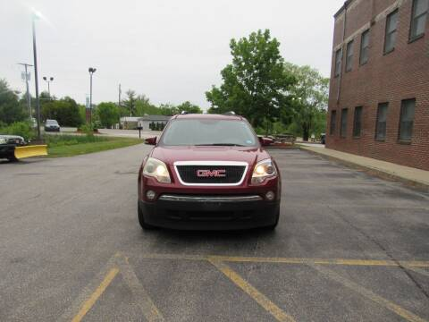 2008 GMC Acadia for sale at Heritage Truck and Auto Inc. in Londonderry NH
