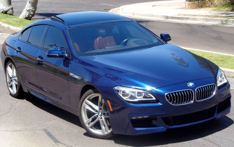 2017 BMW 6 Series for sale at AZGT LLC in Mesa AZ
