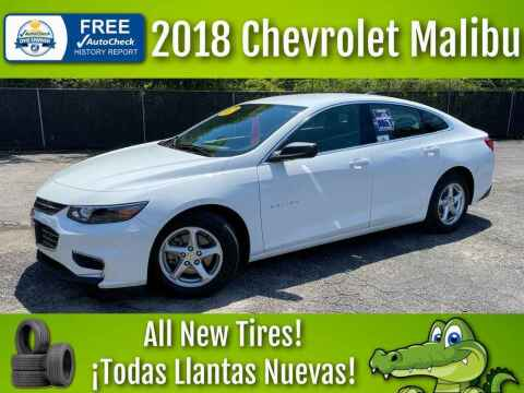 2018 Chevrolet Malibu for sale at LIQUIDATORS in Houston TX