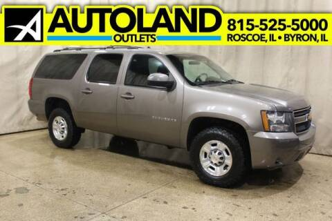 2013 Chevrolet Suburban for sale at AutoLand Outlets Inc in Roscoe IL
