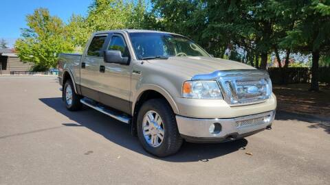 2007 Ford F-150 for sale at VIking Auto Sales LLC in Salem OR