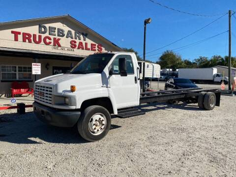 2005 GMC C5500 for sale at DEBARY TRUCK SALES in Sanford FL