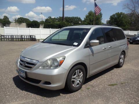 2005 Honda Odyssey for sale at Metro Motor Sales in Minneapolis MN