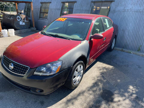 2005 Nissan Altima for sale at Low Auto Sales in Sedro Woolley WA