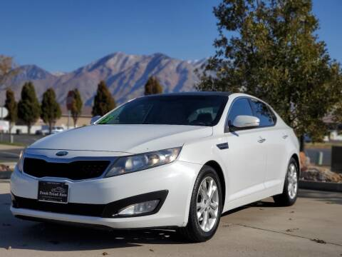 2013 Kia Optima for sale at FRESH TREAD AUTO LLC in Springville UT