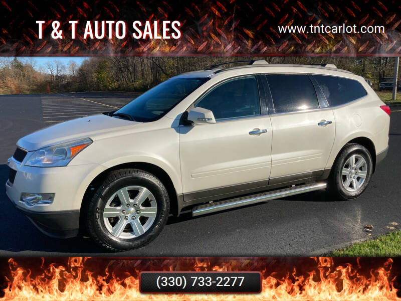 2011 Chevrolet Traverse for sale at T & T Auto Sales in Akron OH