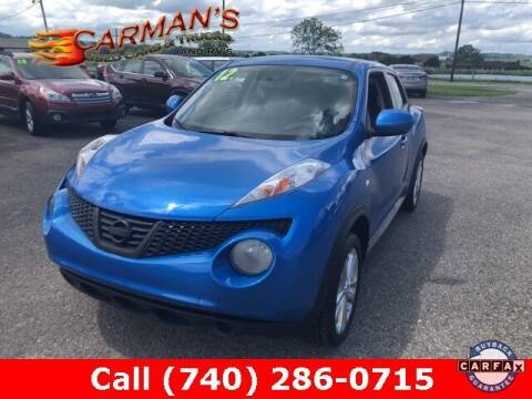 2012 Nissan JUKE for sale at Carmans Used Cars & Trucks in Jackson OH