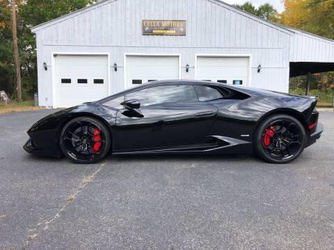 2015 Lamborghini Huracan for sale at Cella  Motors LLC in Auburn NH