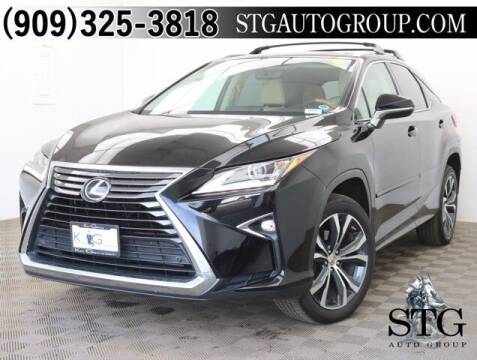 2016 Lexus RX 350 for sale at STG Auto Group in Montclair CA