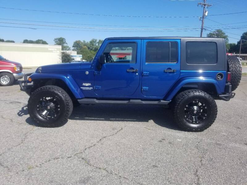 2010 Jeep Wrangler Unlimited for sale at 4M Auto Sales | 828-327-6688 | 4Mautos.com in Hickory NC